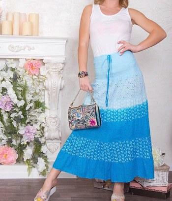 яркие летние сарафаны, длинные летние юбки, сарафан из хлопка, юбка из хлопка