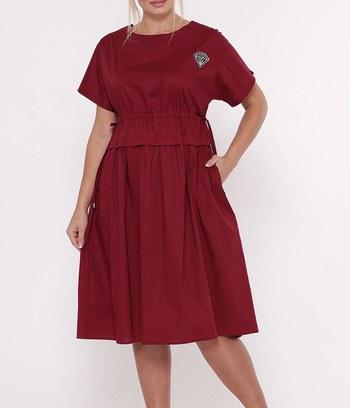 """Летнее платье больших размеров """"Мелисса"""""""