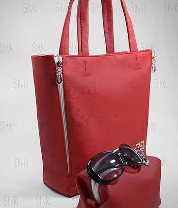 сумка  в комплекте с косметичкой