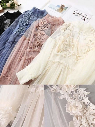 платья из фатина, красивые платья женские