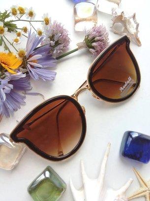 светло-коричневые очки