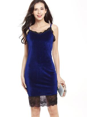 вечернее платье, синее платье, синее велюровое платье, красное платье велюровое