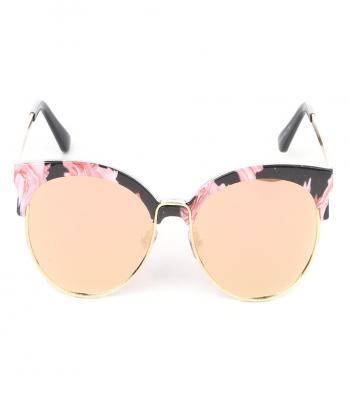 солнцезащитные очки с цветочным принтом