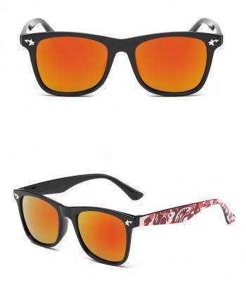 оранжевые детские очки