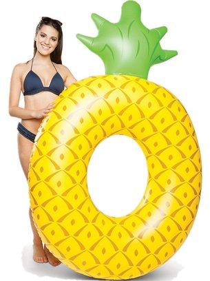 желтый круг в форме ананаса