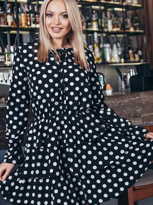 платья молодежные, модные платья, платья из трикотажа