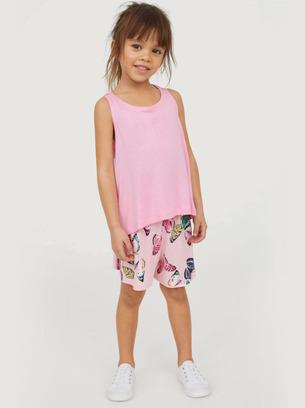 детские летние комплекты, детский комплект шорты с майкой, летние комплекты для девочек