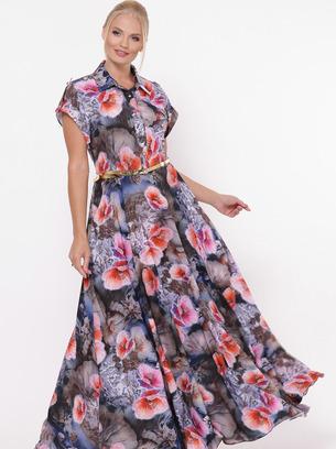 длинное платье, модное платье