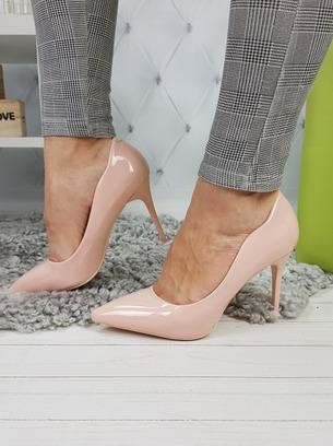 туфли женские лаковые, туфли на высоком каблуке, классические туфли лодочки