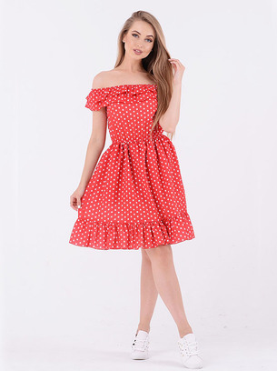 яркое летнее платье, стильное платье, модное летнее платье