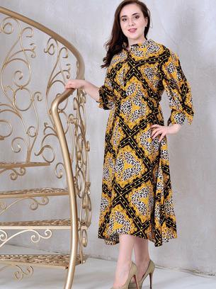 платье рубашка из креп-шифона, модное длинное платье рубашка