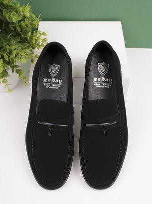 нубуковые мужские туфли, туфли-мокасины, черные туфли мужские