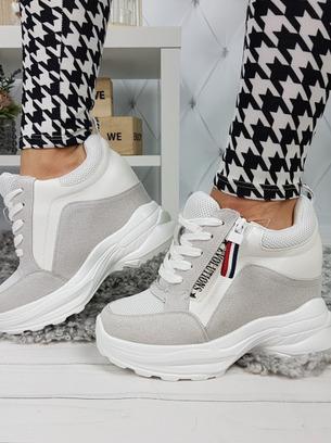 модные кроссовки на высокой платформе