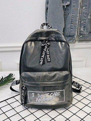 стильный рюкзак, блестящий рюкзак