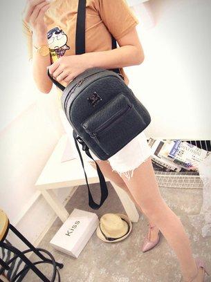 стильный рюкзак, городской рюкзак, серый рюкзакчек