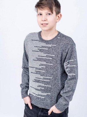 СВИТЕР НА МАЛЬЧИКА, стильный свитер
