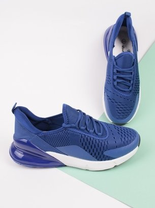 текстильные мужские кроссовки, синие кроссовки