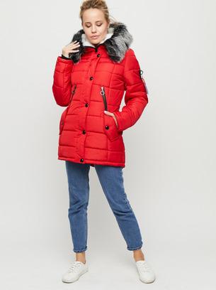 зимние куртки женские, парка зимняя, куртка оливкового цвета