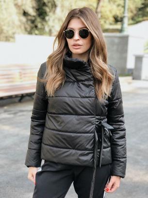 """Модная куртка женкая демисезонная на завязках """"Veronika"""""""