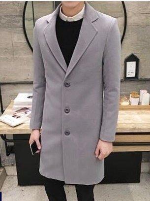демисезонное мужское пальто, стильное пальто