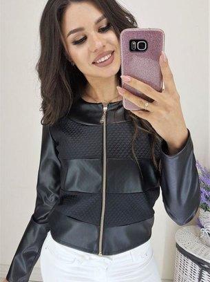 пиджак из эко кожи, стильный пиджак