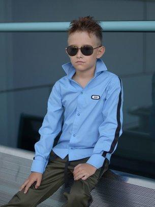 рубашка на мальчика, стильная рубашка