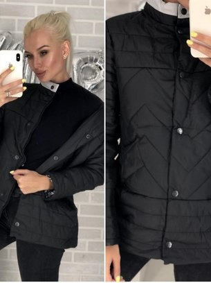 демисезонная женская, стильная куртка