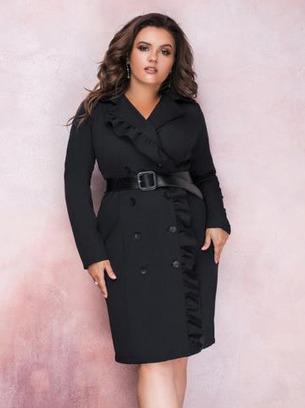 модные платья больших размеров