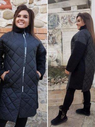 осеннее пальто, батальное пальто