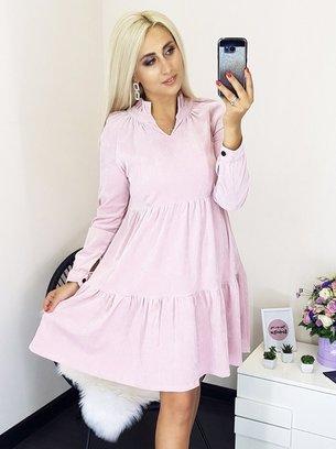 стильное женское платье, женское платье из вельвета
