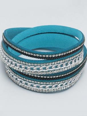 красивые женские браслеты, голубой браслет на руку