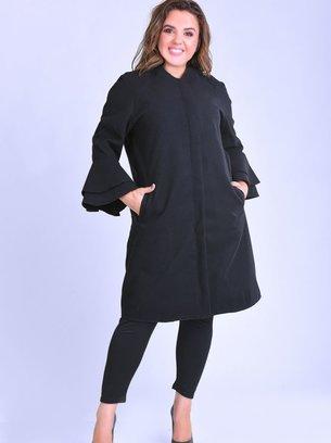 батальное пальто, пальто кашемировое