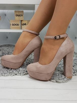 модные туфли замшевые