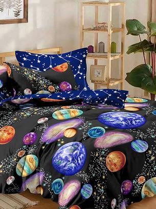 постельное космос