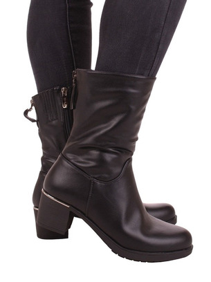 ботинки ботильоны женские на невысоком каблуке
