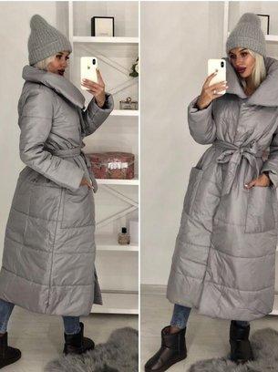 зимняя длинная куртка, пуховик