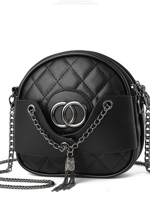 черная сумочка кросс-боди