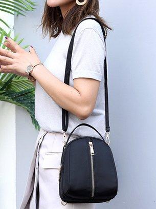 рюкзак-сумка, черная сумка