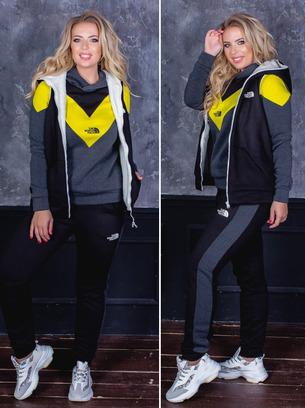 спортивный костюм тройка женский