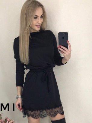стильное мини платье, красивое платье