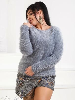Женский свитер травка больших размеров