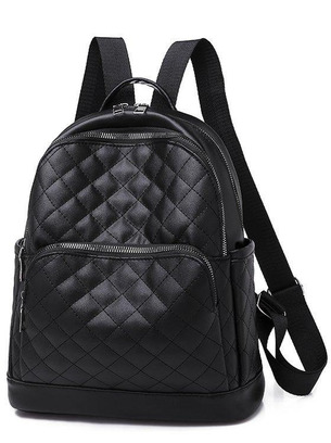 Стильный женский рюкзак из плотной ткани