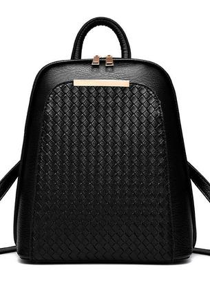Женский рюкзак-сумка небольшого размера из качественной экокожи