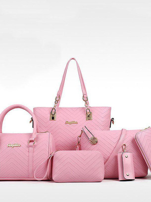 Комплект стильных женских сумок 6 в 1