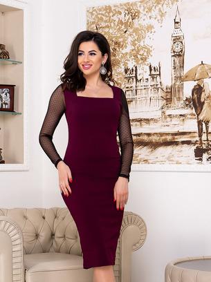 модные классические платья, платье футляр
