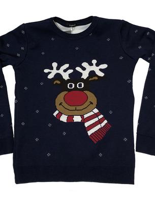 модные детские свитера на новый год