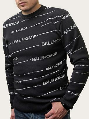 Модный теплый мужской шерстяной свитер