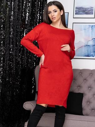 Свободное женское платье большого размера