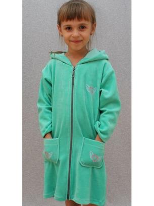 Мягенький детский халатик для девочек