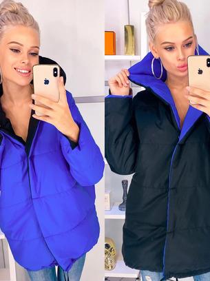 Модная двусторонняя женская курточка